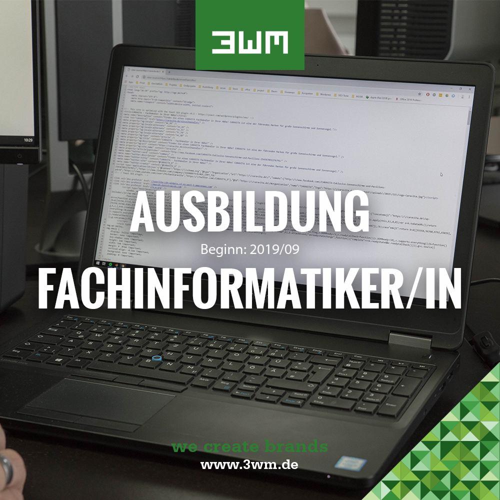 AUSBILDUNG FACHINFORMATIKER/-IN